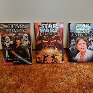 Star wars books episode 2 3 newhope